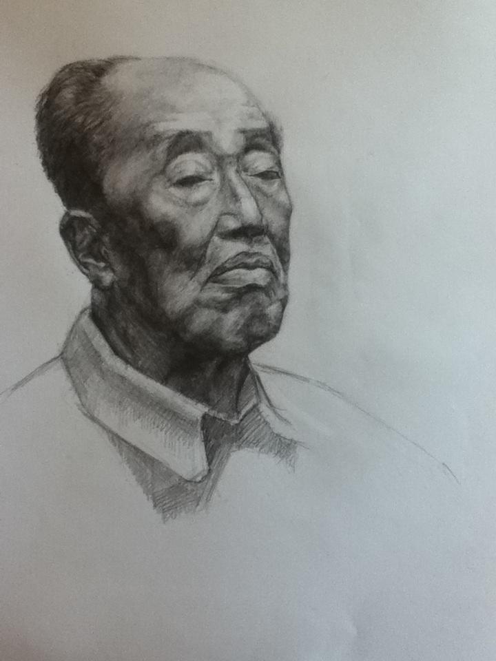 Bleistift Porträt (2)