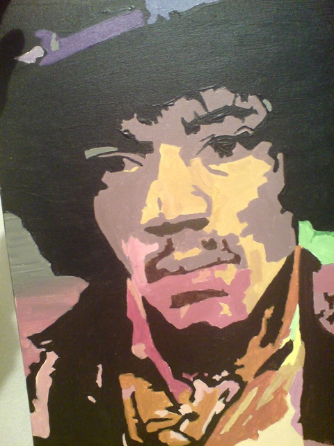 akryll porträt